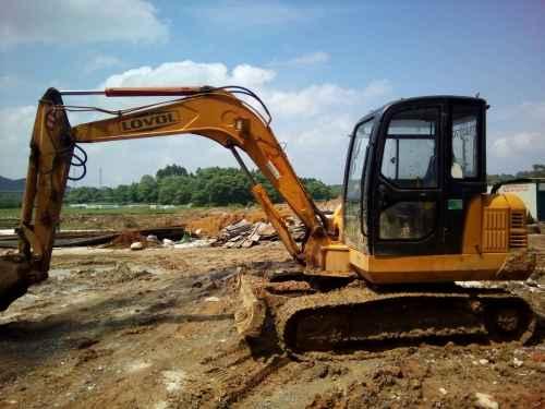 江西出售转让二手12156小时2011年福田雷沃FR65挖掘机