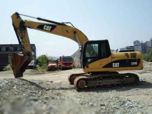 陕西出售转让二手8941小时2009年卡特彼勒320D挖掘机