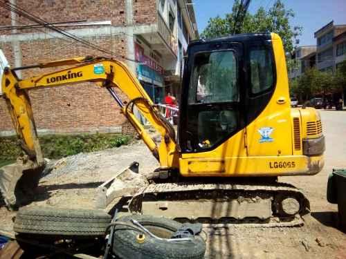 江西出售转让二手12875小时2009年龙工LG6065挖掘机