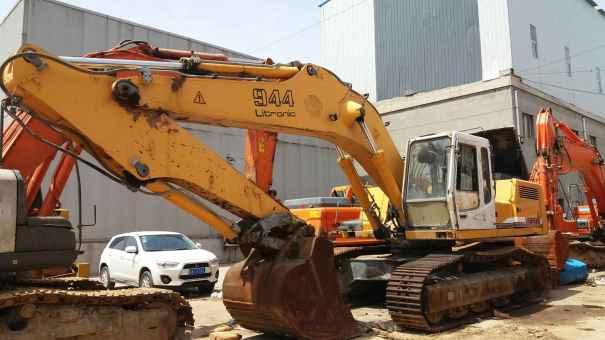 陕西出售转让二手7000小时2011年利勃海尔944挖掘机