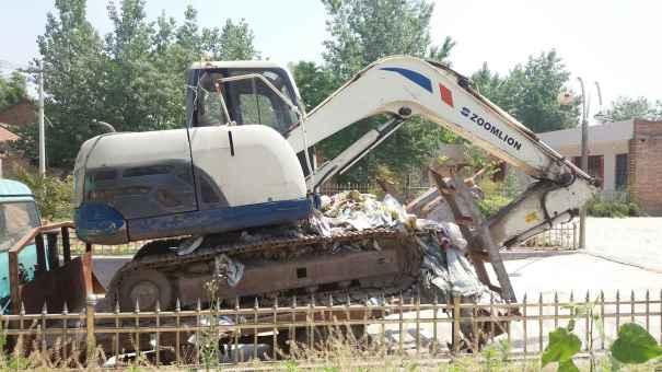 陕西出售转让二手4200小时2010年中联重科ZE80E挖掘机