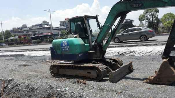江西出售转让二手18000小时2008年石川岛IHI60挖掘机