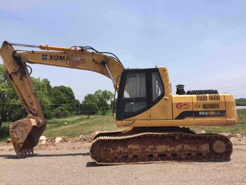江西出售转让二手6500小时2010年厦工XG822LC挖掘机