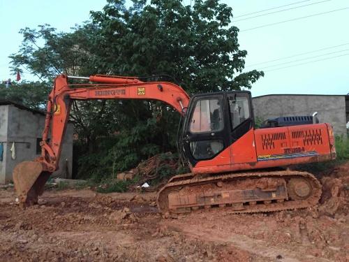江西出售转让二手263小时2011年恒特重工HT120A挖掘机