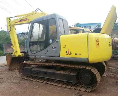 云南出售转让二手9618小时2007年住友SH120挖掘机