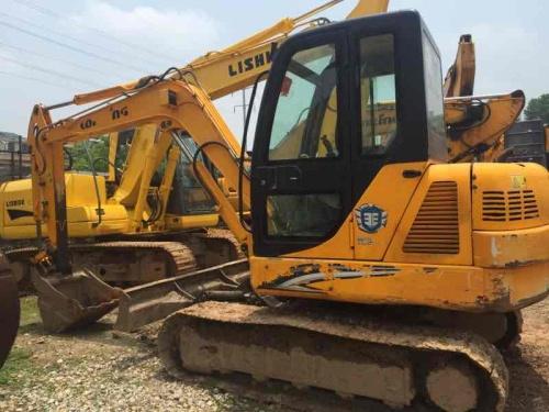 江西出售转让二手3200小时2012年龙工LG6060挖掘机