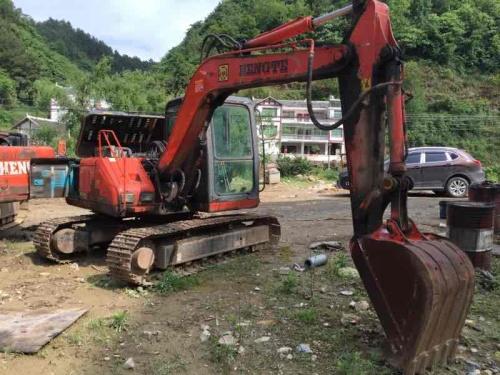 贵州出售转让二手8560小时2010年恒特重工HT80挖掘机