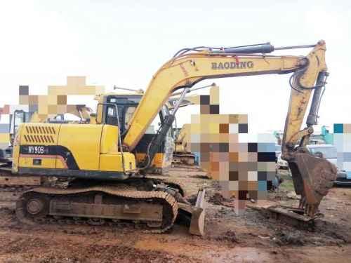 云南出售转让二手2500小时2014年宝鼎WY90B挖掘机