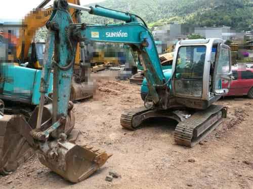 云南出售转让二手9000小时2011年山河智能SWE70N9挖掘机