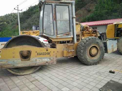 河北出售转让二手8000小时2008年厦工XG6224M单钢轮压路机