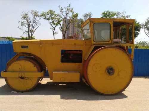 江苏出售转让二手8000小时2007年徐工3Y18三轮压路机