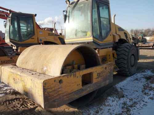 甘肃出售转让二手6000小时2011年山推SR20M单钢轮压路机