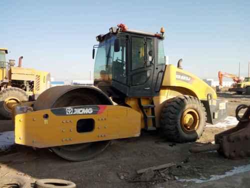 甘肃出售转让二手500小时2015年徐工XS223J单钢轮压路机