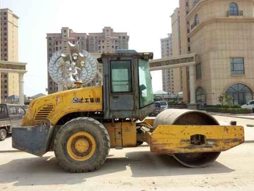 山西出售转让二手7300小时2006年徐工XSM220单钢轮压路机