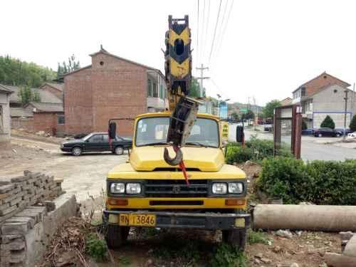 山西出售转让二手10小时2004年长江QY8汽车起重机