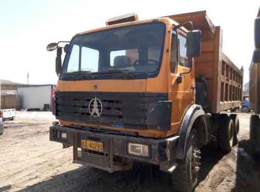山西出售转让二手2009年北奔ND3254B38自卸车