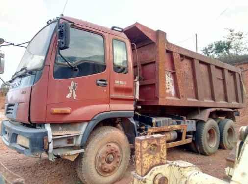 广西出售转让二手2008年福田欧曼BJ150T自卸车