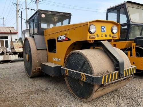 北京出售转让二手2500小时2006年徐工3Y18三轮压路机