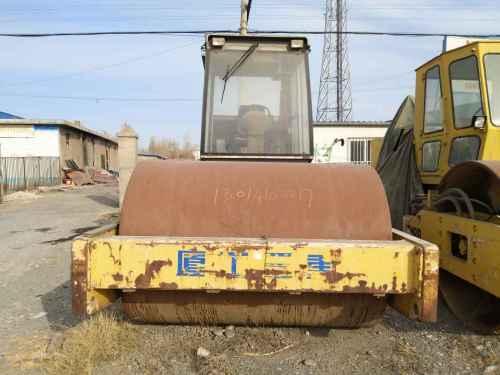 甘肃出售转让二手6000小时2007年厦工XG6201单钢轮压路机