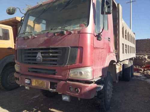 山西出售转让二手2010年中国重汽豪沃ZZ3257N3847D1N7WA自卸车