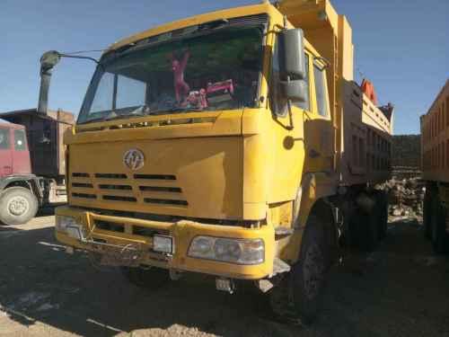 山西出售转让二手2009年红岩CQ3254HMG384A自卸车