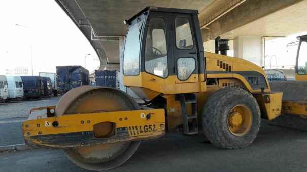 北京出售转让二手3000小时2011年龙工LG518B单钢轮压路机