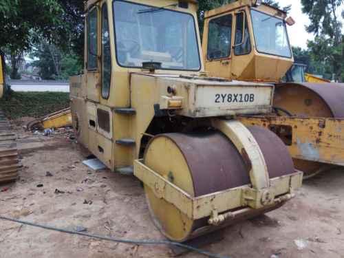 广西出售转让二手5634小时2007年洛建2Y8X10B双钢轮压路机
