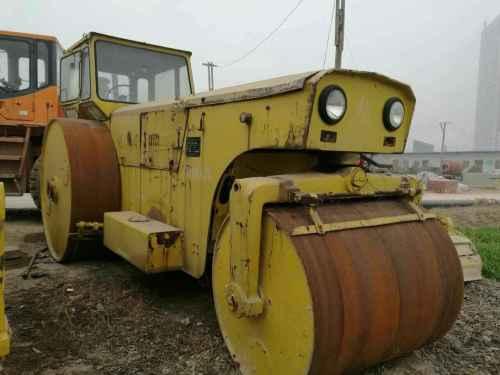 河南出售转让二手20000小时2005年洛阳路通YZ18B三轮压路机