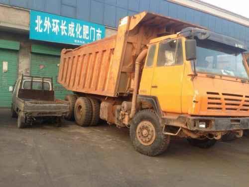 山西出售转让二手2012年陕汽奥龙SX3255UN384自卸车