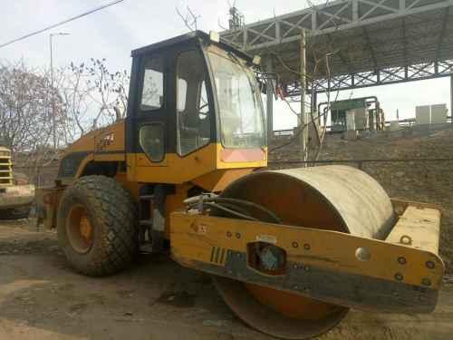 北京出售转让二手3700小时2010年龙工LG512D单钢轮压路机