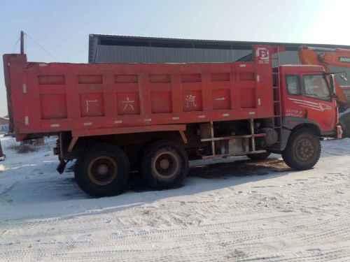 黑龙江出售转让二手2008年中国重汽斯太尔ZZ1316M4666F自卸车