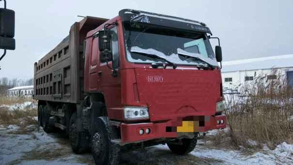 黑龙江出售转让二手2010年中国重汽豪沃ZZ3257M2941自卸车