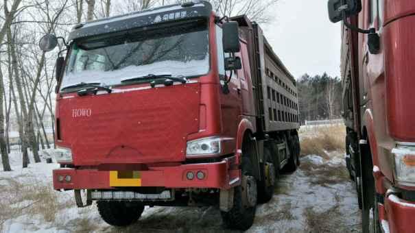 黑龙江出售转让二手2011年中国重汽豪沃ZZ3257M2941自卸车