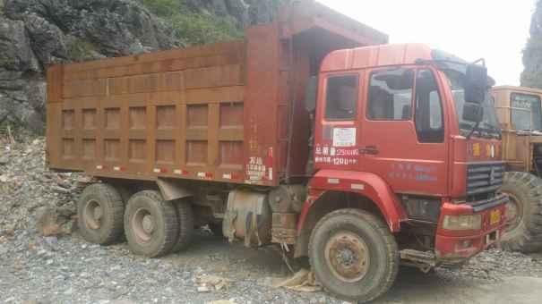 广西出售转让二手2013年中国重汽金王子ZZ3161M4711C1自卸车