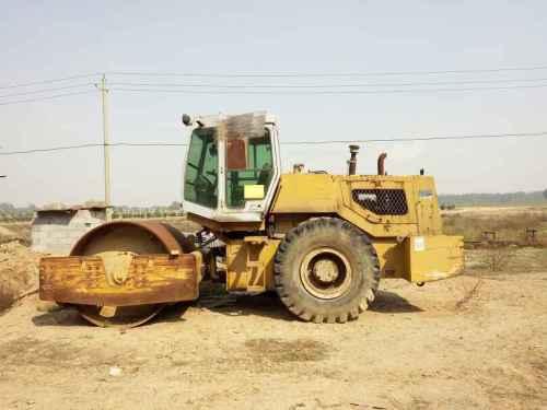 山西出售转让二手100小时2005年洛建LSS220单钢轮压路机