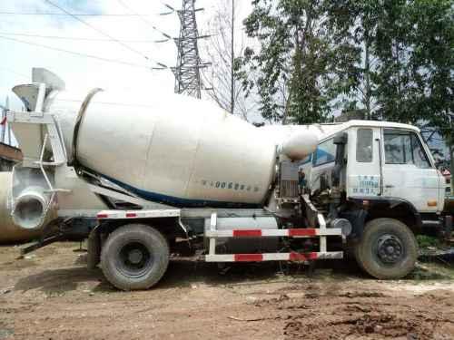 云南出售转让二手2012年东风大力神DFL5251GJBAX1搅拌运输车
