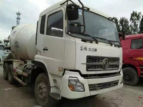 云南出售转让二手2010年东风大力神DFL5250GJBA搅拌运输车