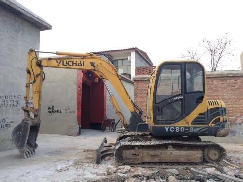 河北出售转让二手4844小时2011年玉柴YC60挖掘机