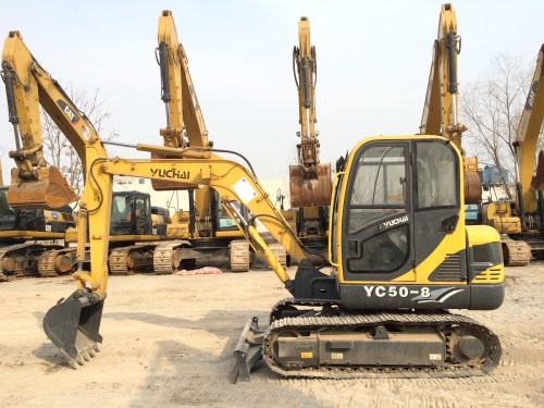 河北出售转让二手13小时2012年玉柴YC50挖掘机
