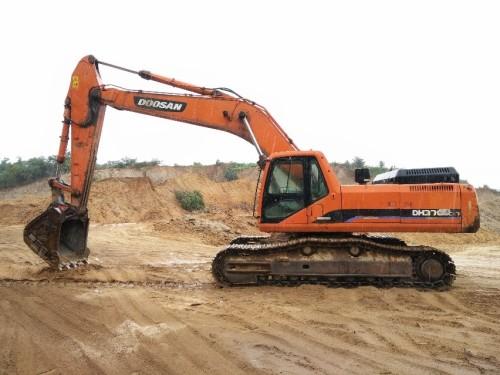 山东出售转让二手3621小时2009年斗山DH370LC挖掘机