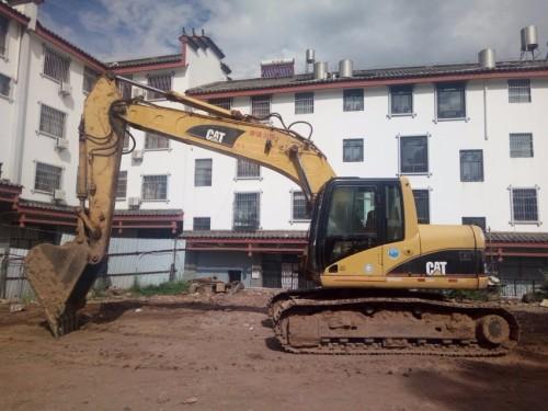 云南出售转让二手9873小时2005年卡特彼勒320CU挖掘机