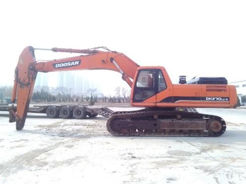 山东出售转让二手2011年斗山DH370LC挖掘机