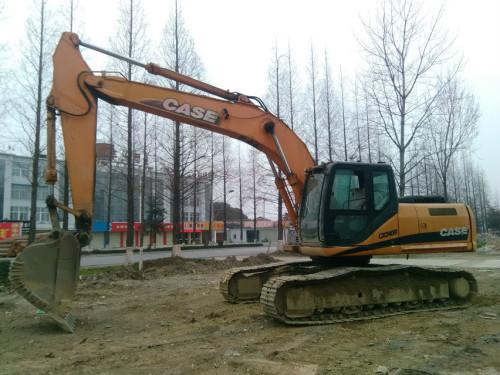 陕西出售转让二手15599小时2010年凯斯CX240B挖掘机