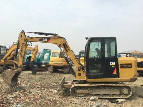 四川出售转让二手4467小时2013年卡特彼勒306E挖掘机
