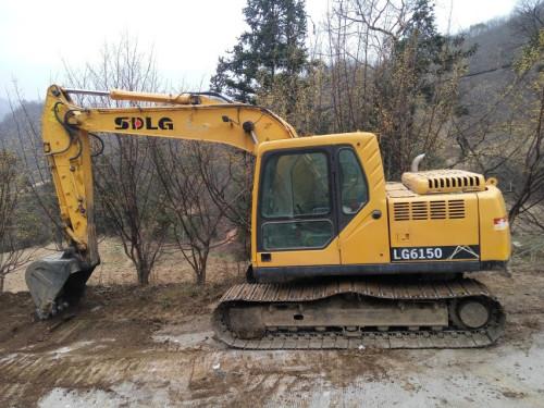陕西出售转让二手4295小时2011年临工LG6150挖掘机