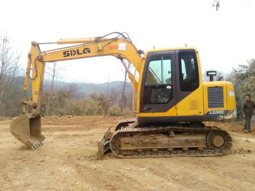 陕西出售转让二手3099小时2011年临工LG685挖掘机