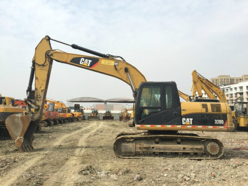 四川出售转让二手8183小时2010年卡特彼勒320D挖掘机