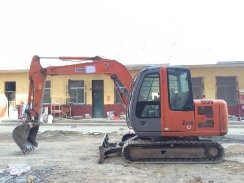 河北出售转让二手4984小时2011年日立ZX60挖掘机