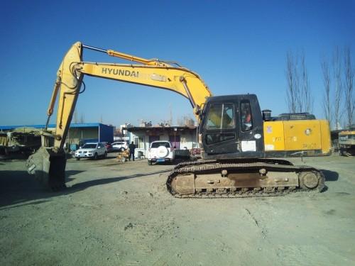 甘肃出售转让二手1114小时2011年现代R225LC挖掘机