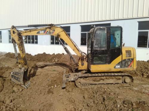 陕西出售转让二手4647小时2013年卡特彼勒306挖掘机